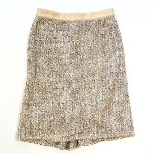 Banana Republic Shimmer Tweed Pencil Skirt 2